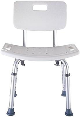 Incroyable Goplus 8 Height Adjustable Medical Shower Bath Chair Bathtub Stool  Detachable Backrest