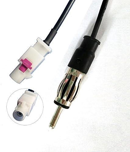Cable adaptador Fakra Iso para antena de radio de coche VW, BMW, Renault, Audi