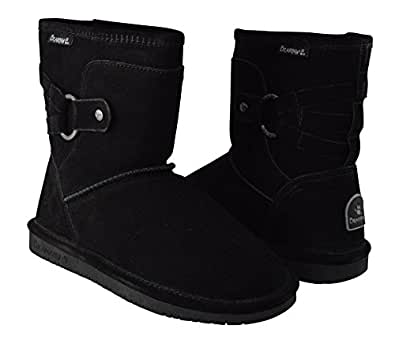 Amazon.com | BEARPAW Womens Clove Shearling Winter Fashion