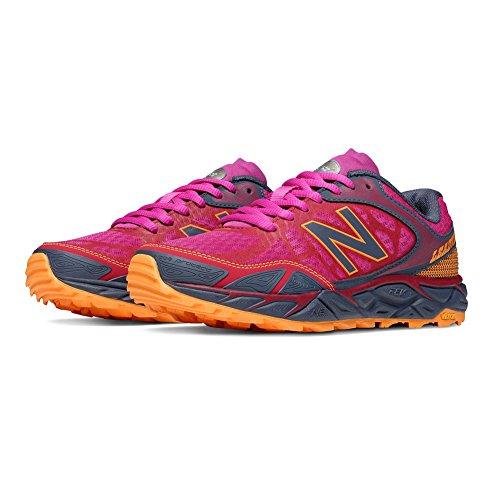 New Balance Women's LEADVILLEV3 Trail Shoe-W, Pink/Grey, 7 B US For Sale