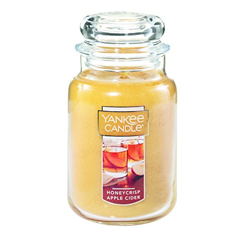 Yankee Candle Large Jar Candle, Honeycrisp Apple Cider