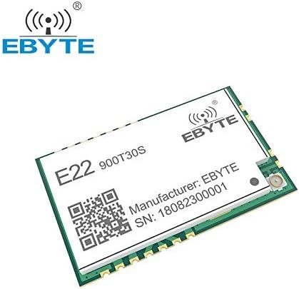 EBYTE LoRa 868MHz 915MHz SX1262 SX1268 TCXO 30dBm E22-900T30S SMD UART Trasmettitore e Ricevitore Wireless 1W Modulo RF Long Range Ricetrasmettitore
