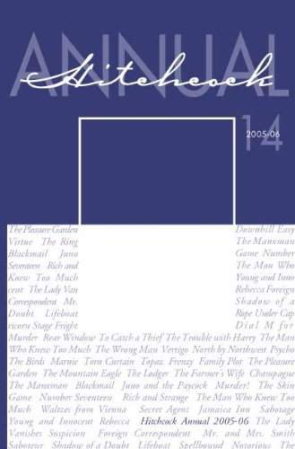 Download Hitchcock Annual, Vol. 14 pdf epub