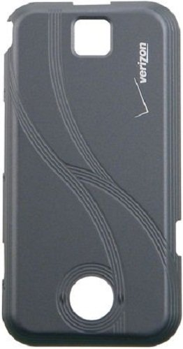 (Motorola SHN1888A Original OEM Rival A455 Standard Battery Door - Non-Retail Packaging - Grey)