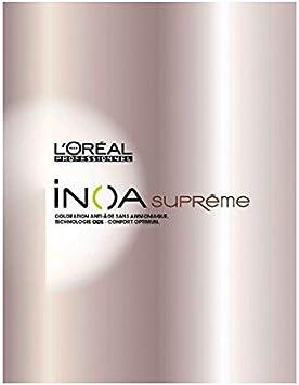 L Oreal Professionnel Inoa Supreme Nuancier Amazon Fr Beaute Et Parfum