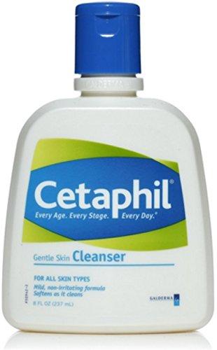 PACK OF 3 EACH CETAPHIL GENTLE CLEANSER 8OZ PT#299392108