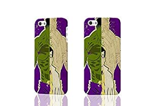 FUN DC MARVEL SUPERHERO 3D Rough Case Skin, fashion design image custom , durable hard 3D case cover for iPhone 4 4S , Case New Design By Codystore