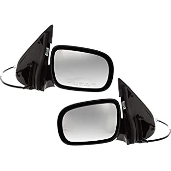 Pair Side KOOL-VUE Mirrors Chevrolet Venture 1997-2005