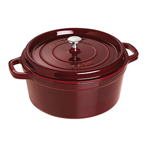 7-Qt. Round Dutch Oven Color: Grenadine by Staub
