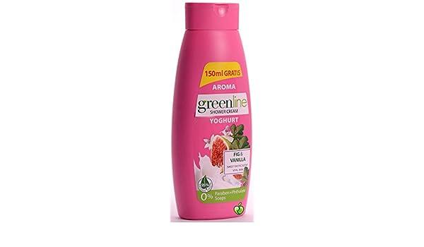 Amazon.com : Aroma Green Line Fig and Vanilla Yoghurt Shower Cream 400ml : Beauty