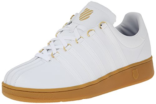 K-swiss Classic Vn, Herren Sneakers Weiß (white/gum)