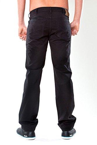 Revils - Jeans - Homme -  Noir - Black - rinse washed - XL