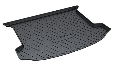 Vesul Rubber Rear Trunk Cover Cargo Liner Trunk Tray Floor Mat Carpet Fits on Cadillac XT5 2017 2018 2019