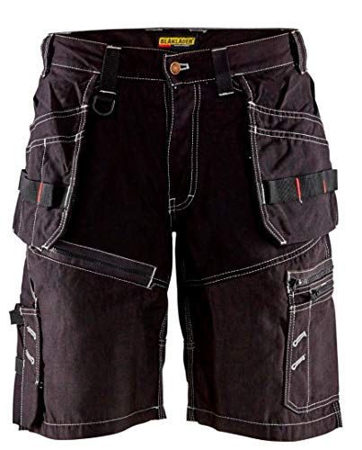 Blaklader 150213109900C50 X1500 Craftman-Shorts, Size 34/32, Black by Blaklader (Image #1)