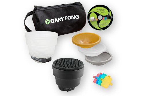 Gary Fong Fashion and Commercial Lighting Flash Modifying Kit (Black/White/Gray/Amber) -