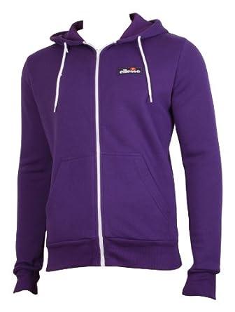 32384ca43 Ellesse Formation Men's Hoodie Hoody Full Zip Track Top Sweatshirt purple  Extra Large: Amazon.co.uk: Clothing
