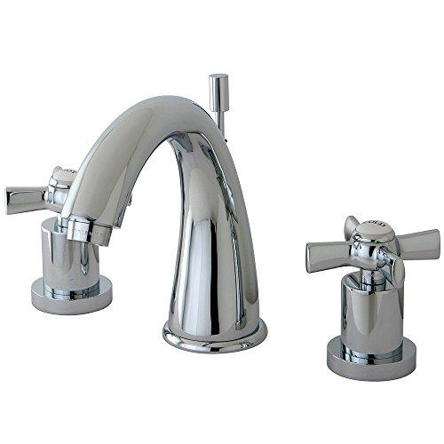 Elegant Brass Widespread Faucet - 8