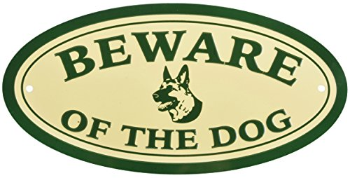 Esschert Design HB22 Sign 'Beware of The Dog'