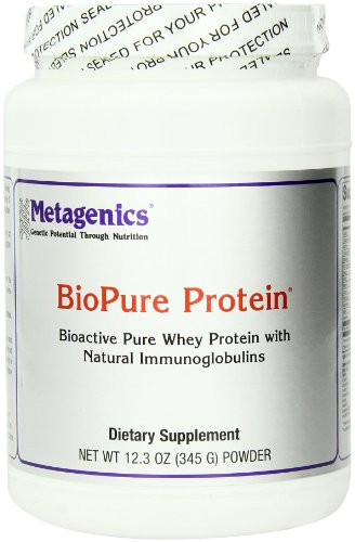 Bio Whey Protein Pure - Metagenics BioPure Protein powder 12.3oz (15 servings)