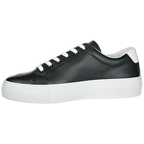 Chaussures Victoria Arts Baskets Master Sneakers MOA en Femme Noir of Cuir nxzAPqw6C