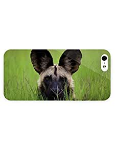 3d Full Wrap Case for iPhone 5/5s Animal African Wild Do