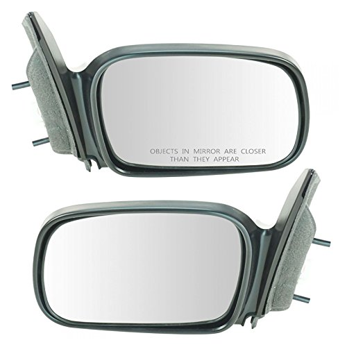 Power Side Mirrors Set Pair Left LH & Right RH for 06-11 Civic 2 Door Coupe ()