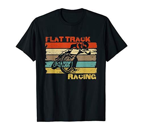 (Vintage Flat Track Motorcycle Racing Speedway)