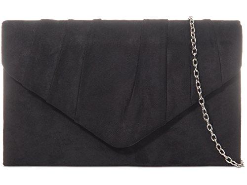 Noir fi9® M Taille noir noir Pochette pour femme A8wqH40