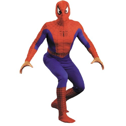 Superhero Spiderman Costume Peter Parker Marvel Comic Mens Theatre Costumes Sizes: One Size