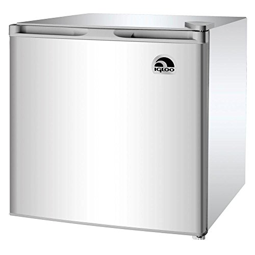 1 6 Cu  Ft  Mini Refrigerator In Silver Grey