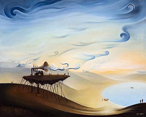 Miller Fine Art Print - Matted Fine Art Print 11x14, Cloud Makers, Justin D Miller