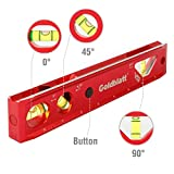 Goldblatt Lighted 9in. Aluminum Verti. Site Torpedo Level