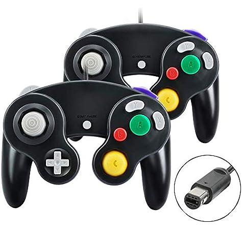 Keten Gamecube Controller Adapter para Switch, Wii U and USB PC, Control de Gamecube Adaptador para Super Smash Bros,Plug & Play (Negro): Amazon.es: Electrónica