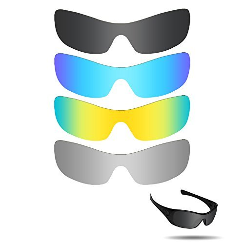 Fiskr Anti-saltwater Replacement Lenses for Oakley, used for sale  Delivered anywhere in Canada