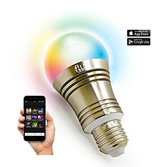 Flux superlight bluetooth led smart light bulb for Bluetooth controlled light bulb