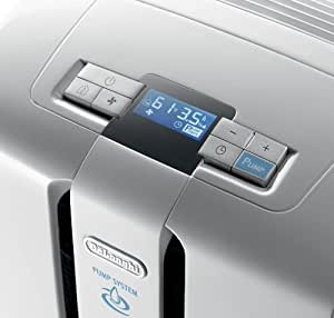 DeLonghi DD50P 50 Pt. Energy Star Dehumidifier with Patented Pump