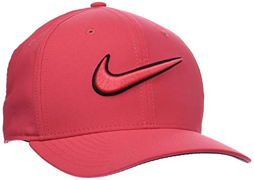 76a63c89a15b0 NIKE Classic 99 Swoosh Golf Cap 2017 Tropical Pink Anthracite Black  Medium Large