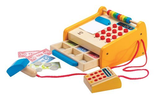 Hape - Playfully Delicious - Checkout Register - Play Set Toy, Kids, Play, Children