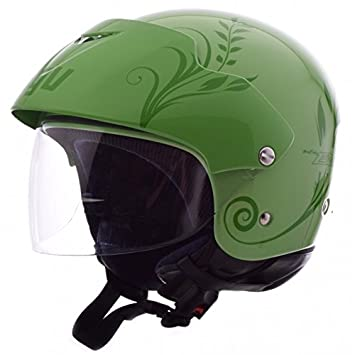 Casco Jet AGV New Bali Green TG. L
