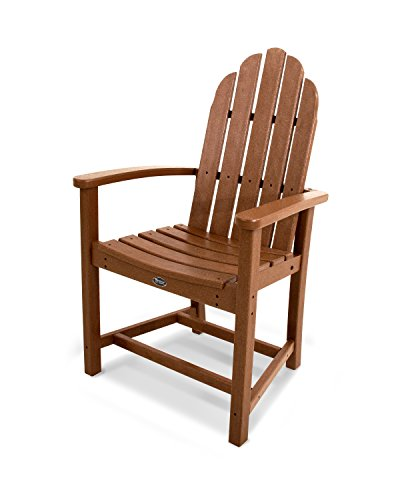 Trex Outdoor Furniture Cape Cod Adirondack Dining Chair in Tree House