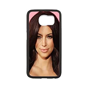 Kim Kardashian Samsung Galaxy S6 Cell Phone Case White H2761119