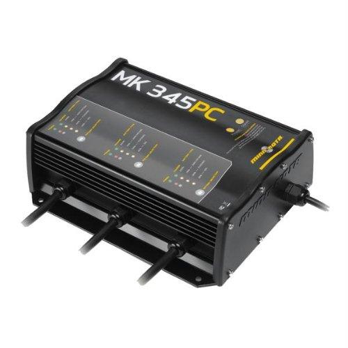 Minn Kota MK 345 PC Precision On-Board 3-Bank Charger, 15-Amp by Minn Kota