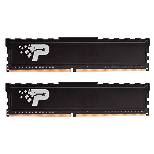 کیت UDIMM با Patriot Signium Premium DDR4 8GB (2x4GB) 2400MHz (PC4-19200) با Heatshield PSP48G2400KH1