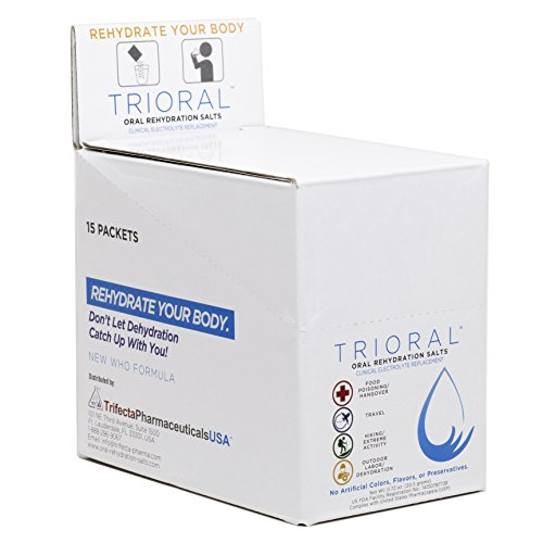 2 TRIORAL Rehydration Organization Electrolyte Replacement
