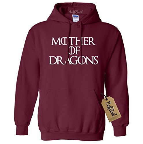 Mother of Dragons Hooded Sweatshirt GOT Pullover -
