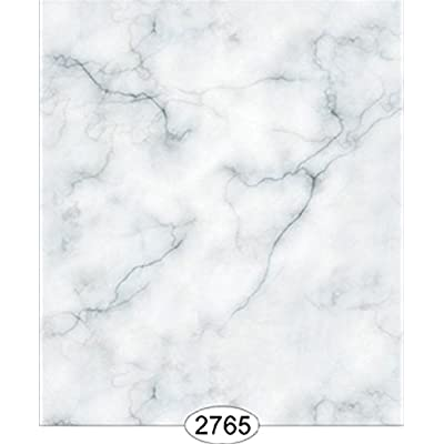 Dollhouse Wallpaper 1:12 Carrara Marble Slab Blue: Toys & Games [5Bkhe0201619]