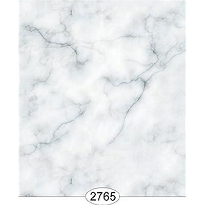 Dollhouse Wallpaper 1:12 Carrara Marble Slab Blue: Toys & Games