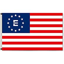 2But Enclave E American Flag Banner 3x5Feet