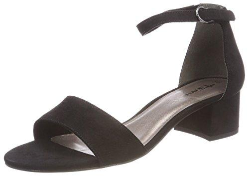 Sandales Femme Tamaris Cheville Noir Noir Eu black 28201 Bride 39 Suede Sxx6ac5qn