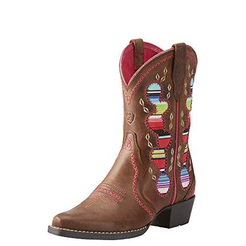 ARIAT Desert Diva Western Boot Distressed Brown Size 5 M US Big Kid